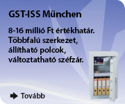 Menjen biztosra, válassza a GST-ISS München páncélszekrényt!