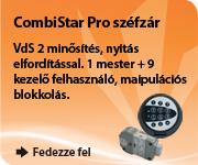 Több kezelő felhasználóra van szükség? A CombiStar Pro széfzárral ez nem lehet gond!