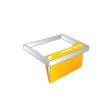 Hanging folder frame - safe accessory