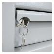 MÜLLER SAFE MP 2 bedobós értékszéf fiók kulcs