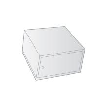 WERTHEIM belső rekesz cilinderzárral, 180 mm magas (501 - 1000)