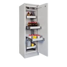 PRIOR-IT PRIOCAB EN31.196.060-4A vegyianyag tároló széf 4 db kihúzható tálcával