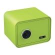 BASI mySafe 350C Elektronik-Tresor, apfelgrün, geschlossen