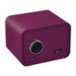 BASI mySafe 350C elektronikus széf, lilás-bordó, zárt