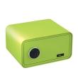 BASI mySafe 430C electronic safe, apple green, closed