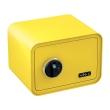 BASI mySafe 350F ujjlenyomatos széf, citromsárga, zárt