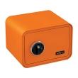 BASI mySafe 350F ujjlenyomatos széf, narancssárga, zárt