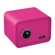 BASI mySafe 350F fingerprint safe, pink, closed