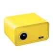 BASI mySafe 430F ujjlenyomatos széf, citromsárga, zárt