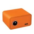 BASI mySafe 430F ujjlenyomatos széf, narancssárga, zárt