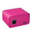 BASI mySafe 430F ujjlenyomatos széf, rózsaszín, zárt
